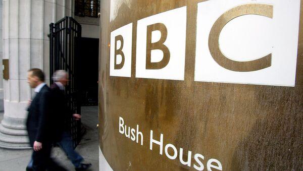 Logo BBC - Sputnik Česká republika