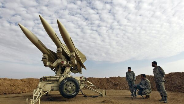 Íránské rakety - Sputnik Česká republika