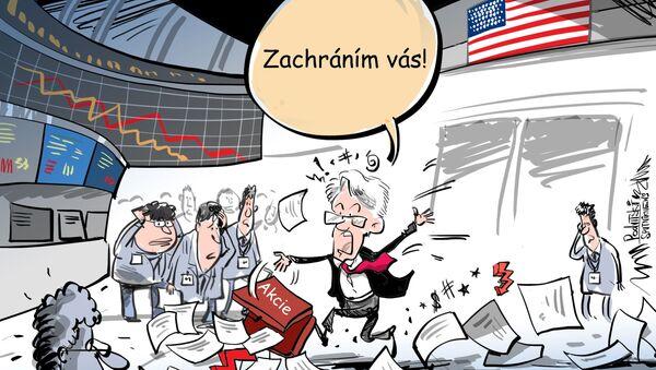 Federální rezervní systém Spojených států zbořil trh - Sputnik Česká republika