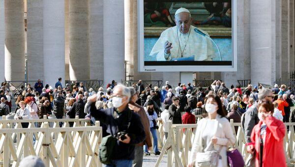 Přenos kázání papeže Františka ve Vatikánu - Sputnik Česká republika