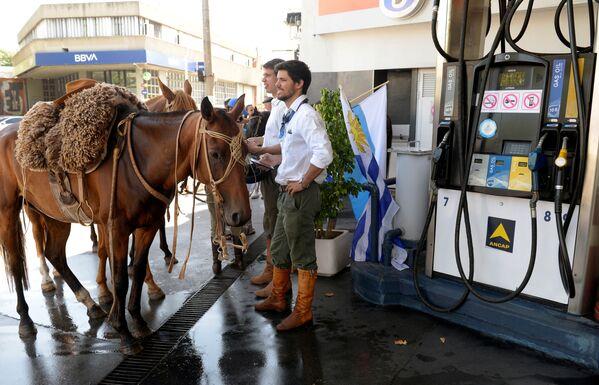 Stoupenci zvoleného prezidenta čekají na inauguraci, Uruguay - Sputnik Česká republika