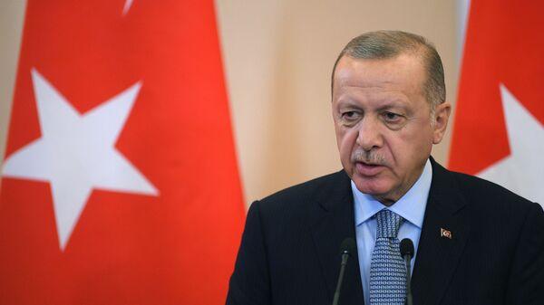 Prezident Turecké republiky Recep Tayyip Erdoğan - Sputnik Česká republika