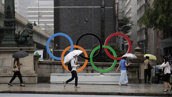 Symbol Olympijských her v Tioku  - Sputnik Česká republika