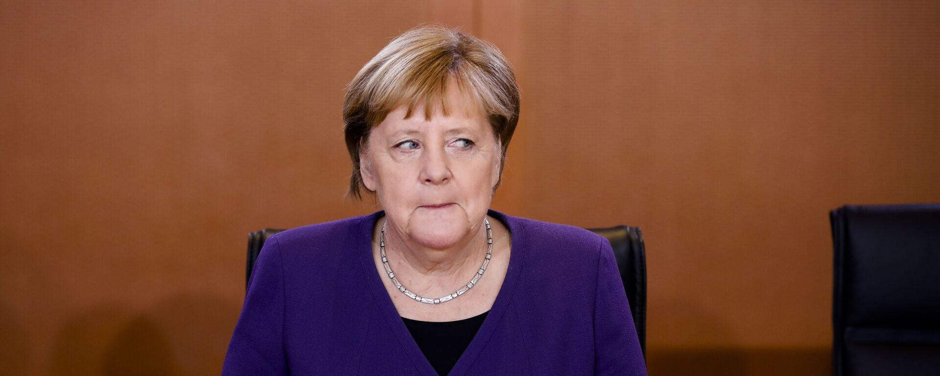 Německá kancléřka Angela Merkelová - Sputnik Česká republika, 1920, 24.06.2021