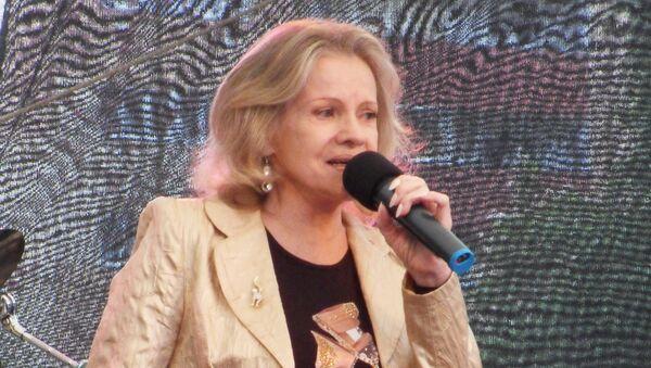 Česká zpěvačka a herečka Eva Pilarová - Sputnik Česká republika