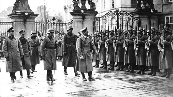 Adolf Hitler v Praze. 15.3.1939   - Sputnik Česká republika
