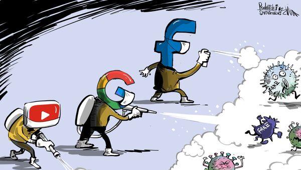 Facebook, Google a Microsoft bojují proti dezinformacím o koronaviru - Sputnik Česká republika