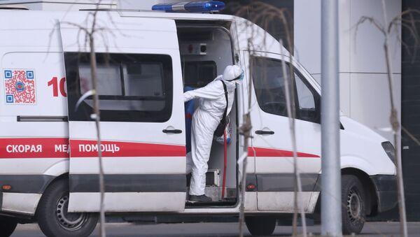 Moskevská sanitka. Ilustrační foto - Sputnik Česká republika