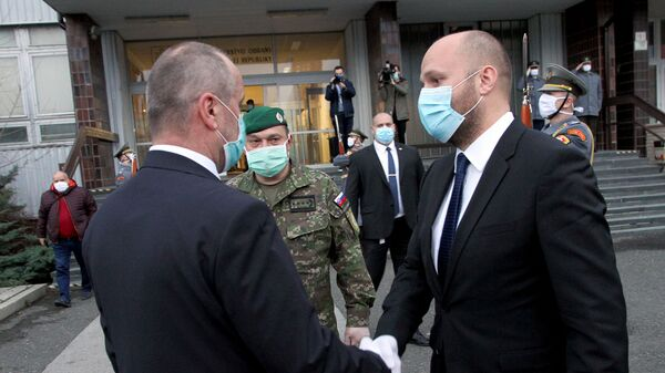 Minister obrany SR Jaroslav Naď - Sputnik Česká republika