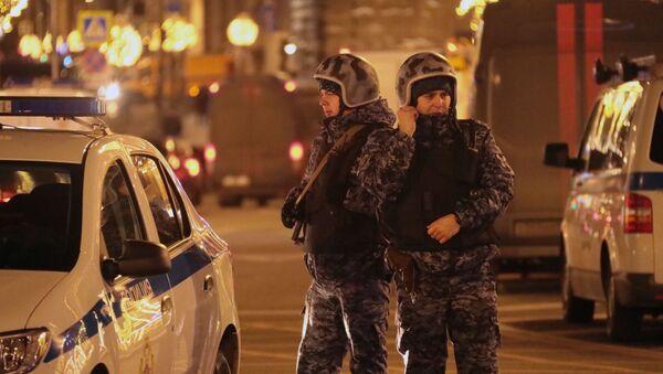 Policisté v Moskvě - Sputnik Česká republika