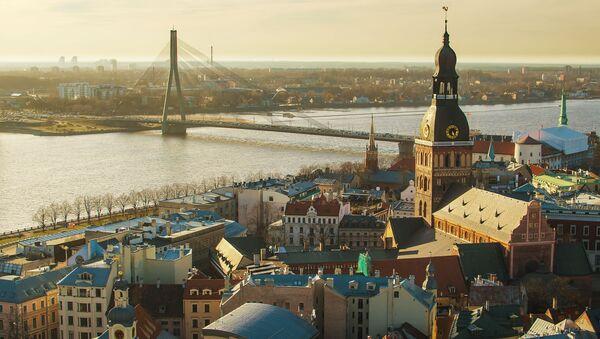 Pohled na Rigu, Lotyšsko - Sputnik Česká republika