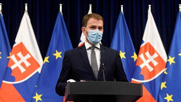 Slovenský premiér Igor Matovič - Sputnik Česká republika