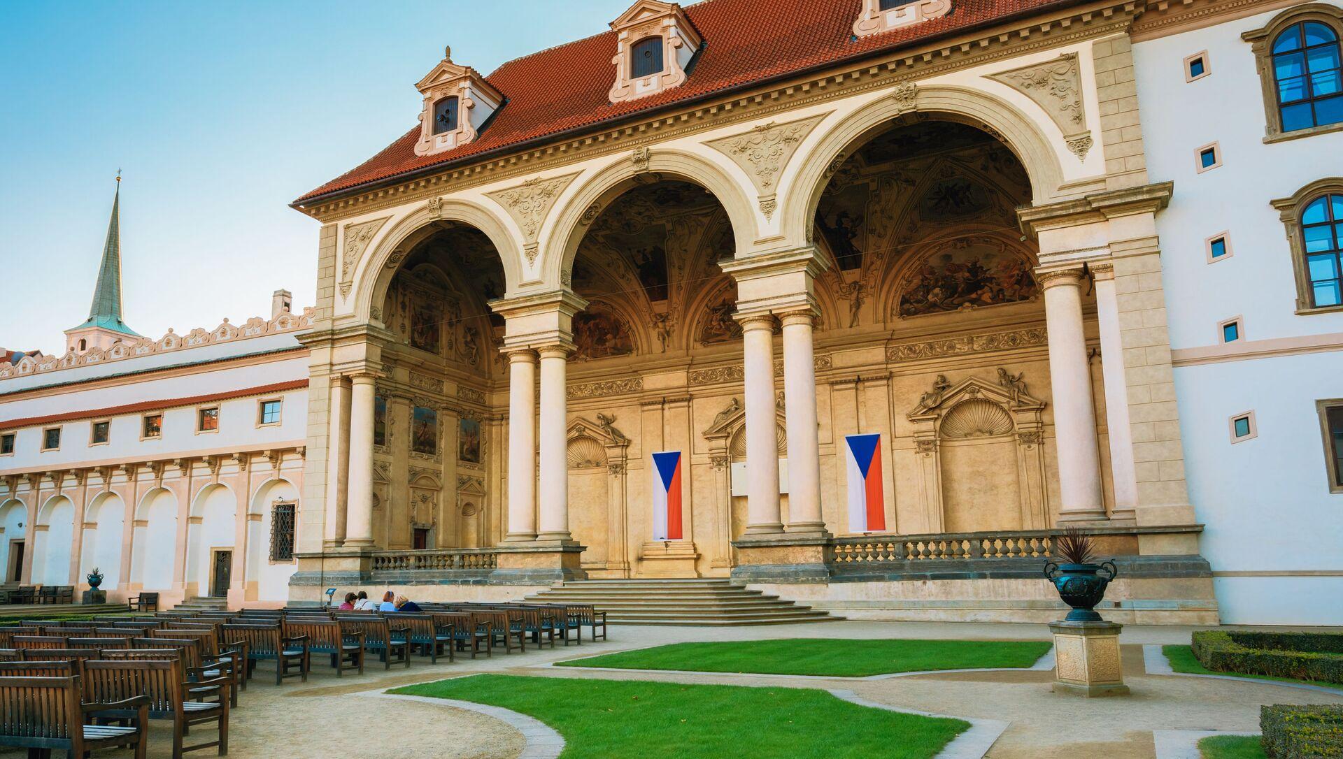 Valdštejnský palác, sídlo Senátu Parlamentu ČR - Sputnik Česká republika, 1920, 24.02.2021