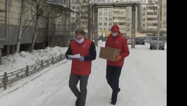 Dobrovolníci se sjednotili, aby pomohli důchodcům po celém Rusku během karantény - Sputnik Česká republika