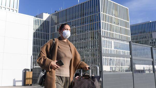 Nemocnice v Kommunarce v Moskvě - Sputnik Česká republika