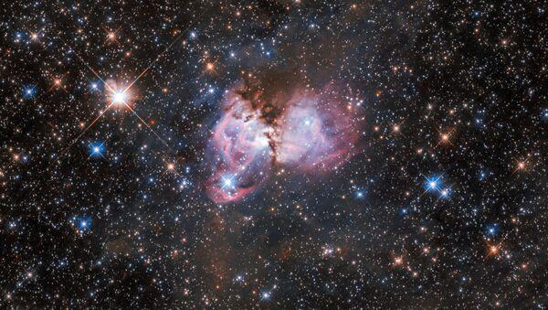 Hvězdná kolébka na okraji mlhoviny tarantule - Sputnik Česká republika