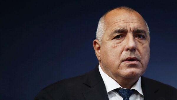Bojko Borisov - Sputnik Česká republika