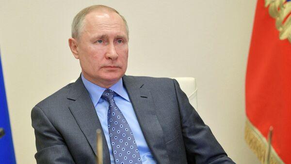 Prezident Ruské federace Vladimir Putin - Sputnik Česká republika