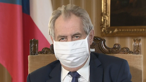 Projev prezidenta Miloše Zemana - Sputnik Česká republika