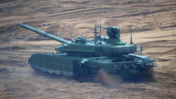 Tank T-90M Proryv na cvičení Západ 2017 - Sputnik Česká republika
