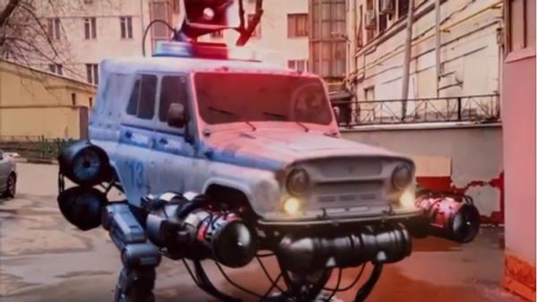 Roboti v ulicích Moskvy - Sputnik Česká republika