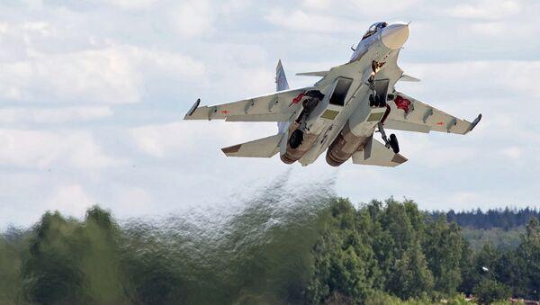 Suchoj Su-30SM. Ilustrační foto - Sputnik Česká republika