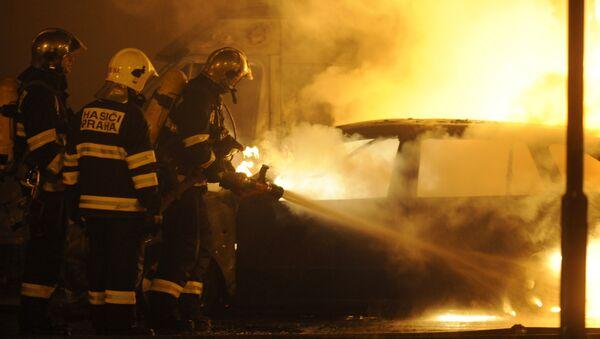 Čeští hasiči, archivní foto - Sputnik Česká republika