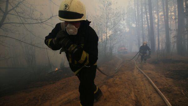 Požár v Černobylu  - Sputnik Česká republika
