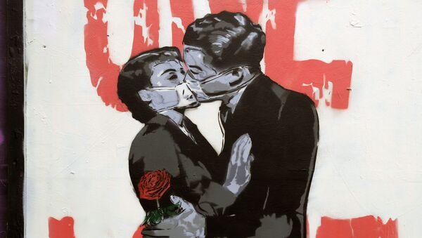 Graffiti v Londýně - Sputnik Česká republika