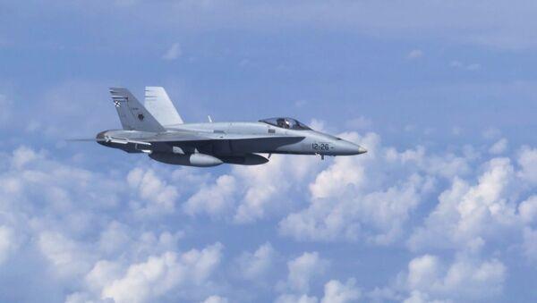 Stíhací letoun F-18 - Sputnik Česká republika