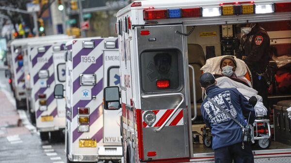 Ambulance v New Yorku - Sputnik Česká republika