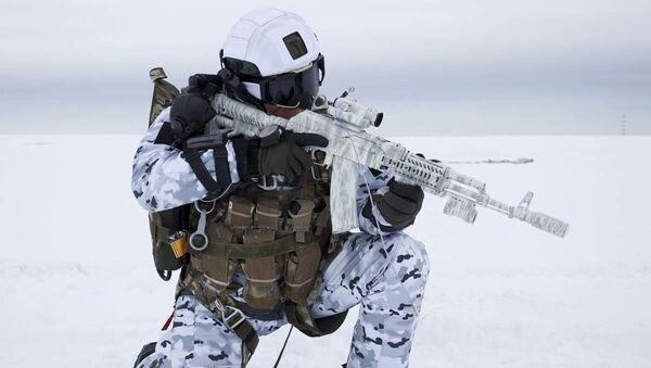 Historický okamžik. Ruští výsadkáři skočili z rekordní výšky v Arktidě - Sputnik Česká republika