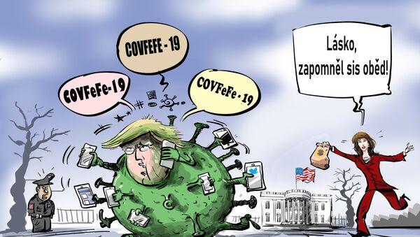 Donald Trump kvůli koronaviru přišel o svůj oběd - Sputnik Česká republika