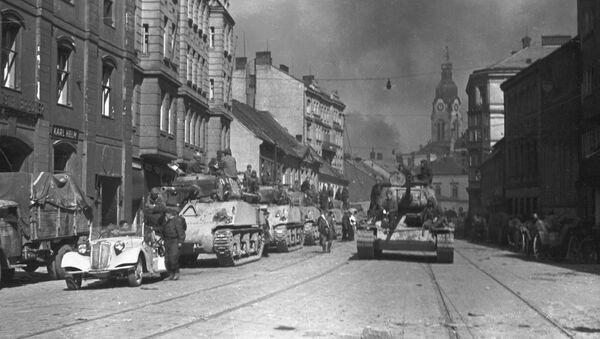 Osvobození Brna Rudou armádou  - Sputnik Česká republika
