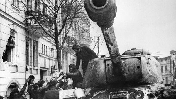 Legendární sovětské tanky z doby druhé světové války - Sputnik Česká republika