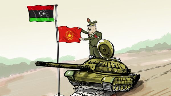 Armáda převzala moc v Lybii - Sputnik Česká republika