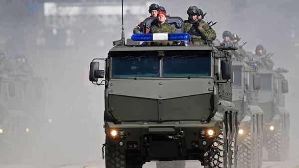 Obrněné vozidlo Tajfun-K - Sputnik Česká republika
