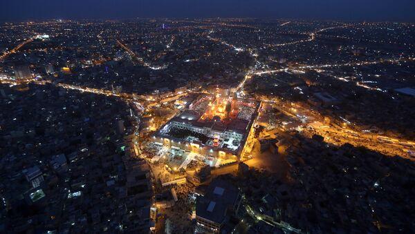 Pohled na noční Bagdád - Sputnik Česká republika