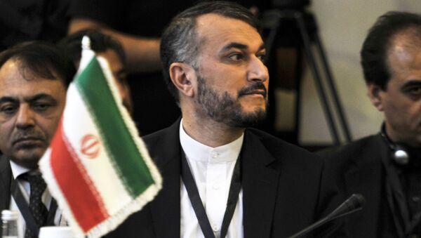 Náměstek šéfa íránské diplomacie Hossein Amir Abdollahian - Sputnik Česká republika