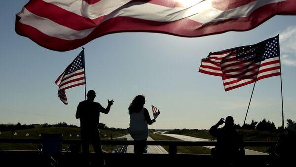 Vlajky USA - Sputnik Česká republika