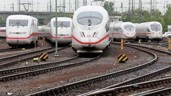 Deutsche Bahn - Sputnik Česká republika