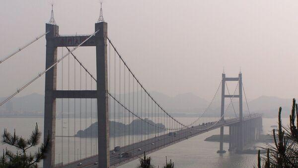 Most Humen v čínské provincii Kuang-tung. - Sputnik Česká republika