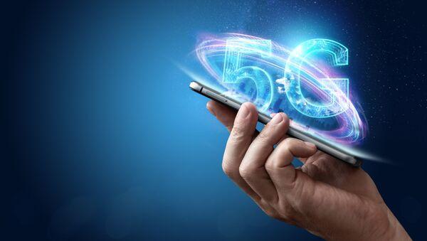 Vizualizace mobilní komunikace 5G - Sputnik Česká republika