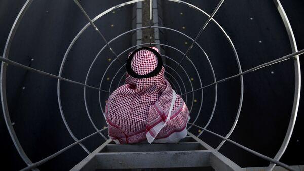 Muž na mostě v Rijádu, Saúdská Arábie - Sputnik Česká republika