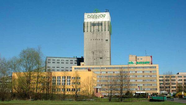 Správní budova a těžní věž dolu Darkov v Karviné - Sputnik Česká republika