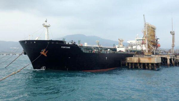 Íránský tanker Fortune ve Venezuele - Sputnik Česká republika
