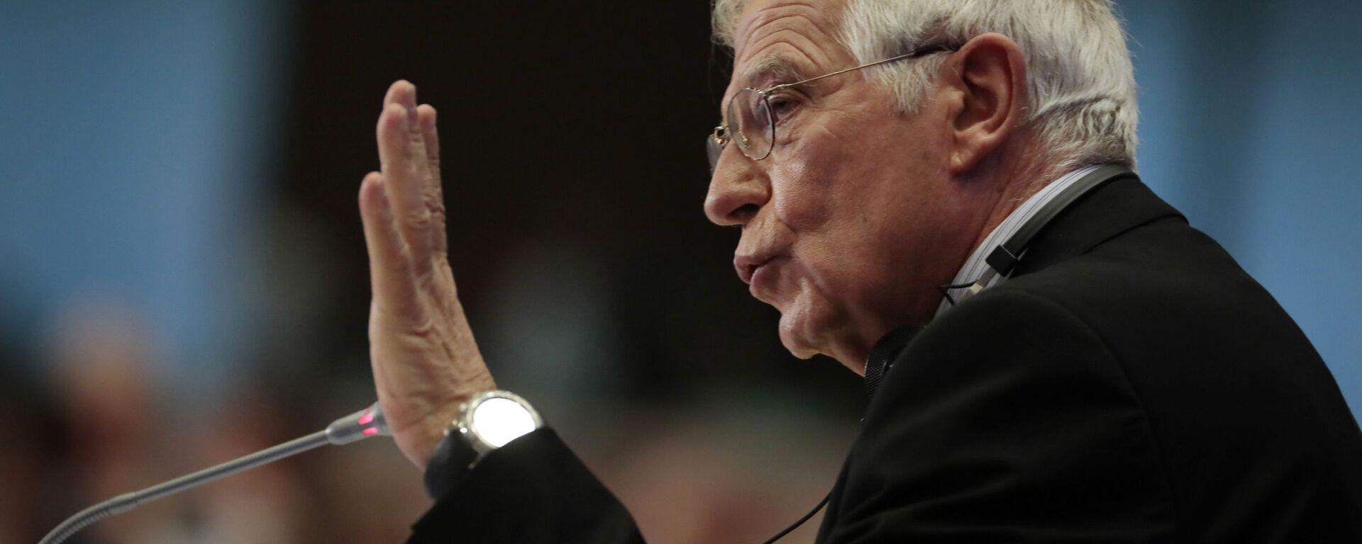 Vysoký představitel Evropské unie pro zahraniční a bezpečnostní politiku Josep Borrell Evropské unie Josep Borrell - Sputnik Česká republika, 1920, 21.09.2021