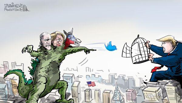 Trump obvinil sociální sítě z potlačování konzervativců - Sputnik Česká republika
