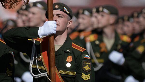Přehlídka Vítězství v Moskvě 9. května - Sputnik Česká republika
