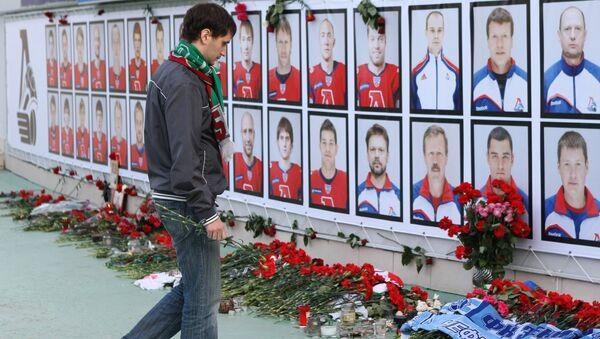 Fotografie zahynulých hokejistů HC Lokomotiv Jaroslavl - Sputnik Česká republika
